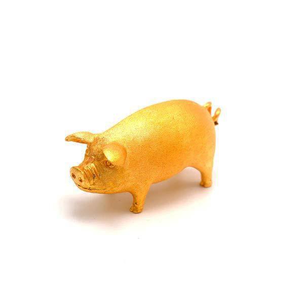 10 돈 순금 돼지 24k pig
