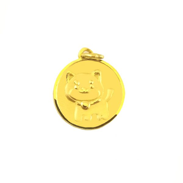 황금개띠 순금 목걸이