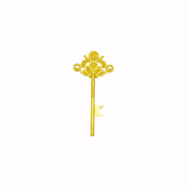 순금 행운 의 열쇄 3돈 24k golden key