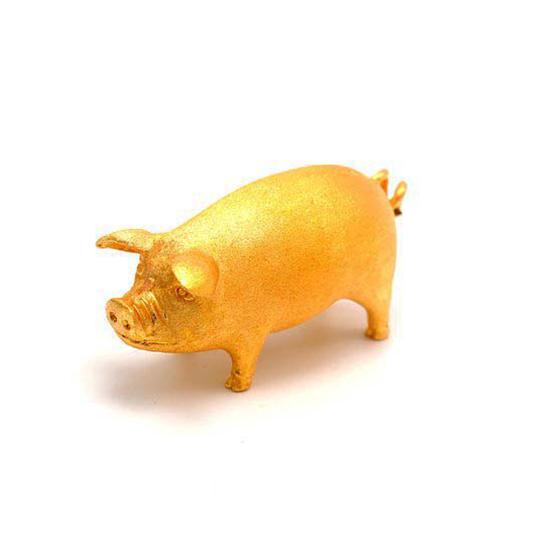 20 돈 돼지 24k gold pig